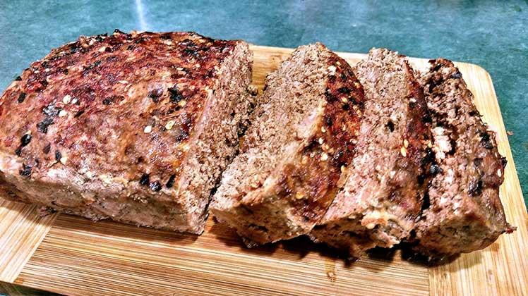 Geglazuurd-gehaktbrood